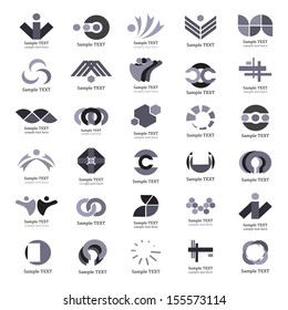 Unusual Icons Set - Isolated On White Background - Vector Illustration, Graphic Design Editable For Your Design. Unusual Logo