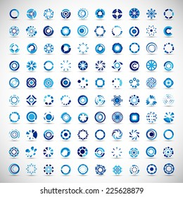 Unusual Icons Set - Isolated On Gray Background - Vector Illustration, Graphic Design Editable For Your Design.
