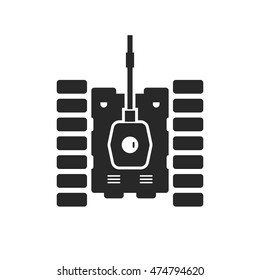 tank icon top view images stock photos vectors shutterstock https www shutterstock com image vector unusual tank black icon concept destroy 474794620