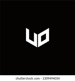 UO Logo Letter ininial Designs Templete