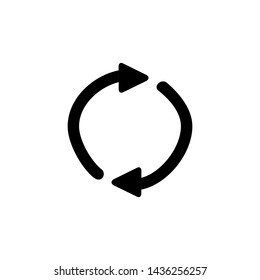 Update icon. Rotate arrow sign