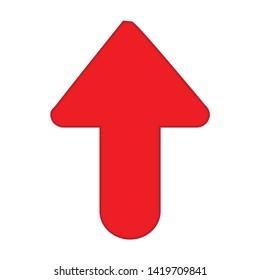 upload icon. flat illustration of upload vector icon for web