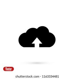 upload icon, Vector EPS 10 illustration style