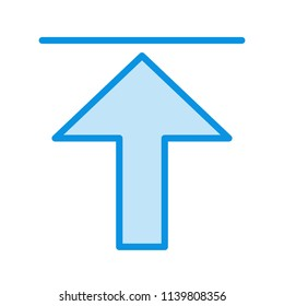 Upload Line Icon