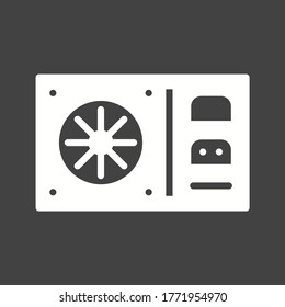 UPS Uninterruptible Power Supply Icon. PC hardware element icon. Premium quality graphic design icon. Computer Signs, isolated symbols collection icon for websites