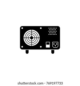 UPS Uninterruptible Power Supply Icon. PC hardware element icon. Premium quality graphic design icon. Computer Signs, isolated symbols collection icon for websites, web design on white background
