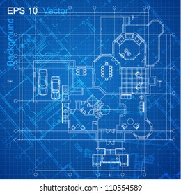 City blueprint images stock photos vectors shutterstock urban blueprint vector architectural background part of architectural project architectural plan malvernweather Images
