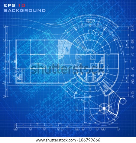 Urban blueprint vector architectural background stock vector urban blueprint vector architectural background malvernweather Gallery