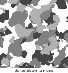 Urban camo vector pattern. 200+ camo textures in my portfolio.