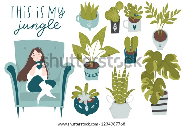 Urban Jungle Trendy Home Decor Plants | Nature, Objects ... on nature games, nature home ideas, nature interior design, nature beauty, nature home furniture, nature animals,