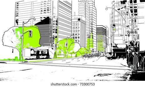 urban scenics