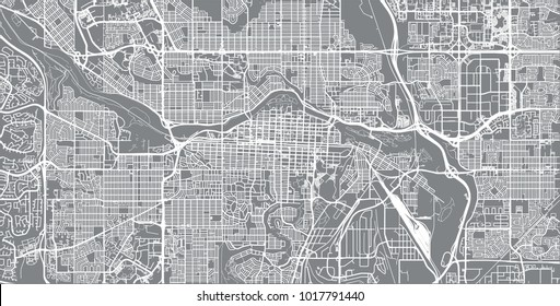 Calgary Map Images Stock Photos Vectors Shutterstock