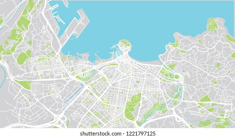 Gijon Spain Map.Gijon Spain Stock Illustrations Images Vectors Shutterstock