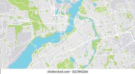 Ottawa Map Images, Stock Photos & Vectors | Shutterstock