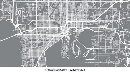 Tampa Florida Map.Tampa Bay Map Stock Illustrations Images Vectors Shutterstock