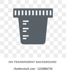 Urine icon. Trendy flat vector Urine icon on transparent background from Health and Medical collection.