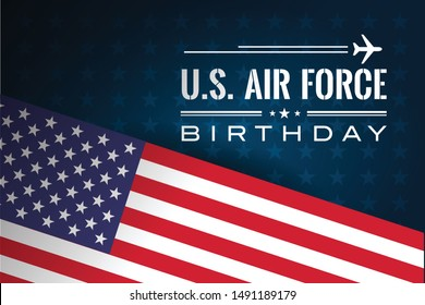 US Air Force Birthday Vector