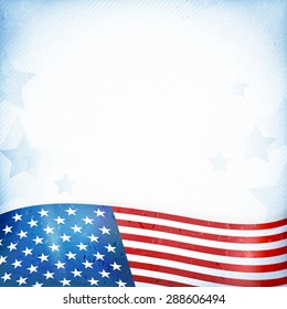 us american flag themed background card stock vector royalty free