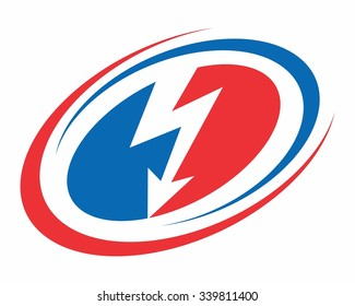 US lightning bolt logo icon vector  sc 1 st  Shutterstock & Lightning Bolt Logo Images Stock Photos u0026 Vectors | Shutterstock