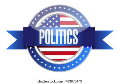 us politics seal stamp illustration illustration design graphic