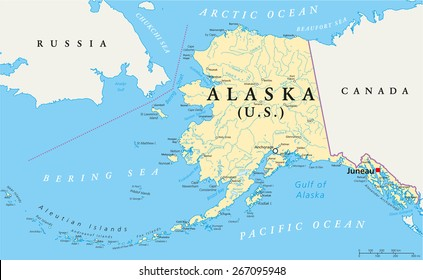 russia to alaska map Bering Strait Images Stock Photos Vectors Shutterstock