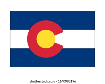 US State of Colorado Flag