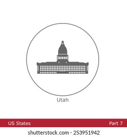 US States - symbolized by the State Capitols (Part 7)