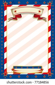 Us traditional background. A patriotic background for a poster.