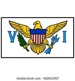 U.S. Virgin Island Flag