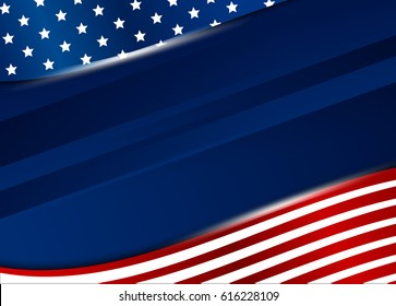USA background design vector illustration