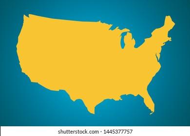 Imagenes Fotos De Stock Y Vectores Sobre Mapa Usa Shutterstock