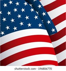 USA design, vector illustration
