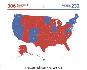 USA Election Map