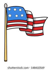 cartoon flag images stock photos vectors shutterstock rh shutterstock com cartoon flashcards cartoon flash