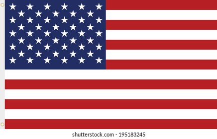 usa flag, stripes and stars