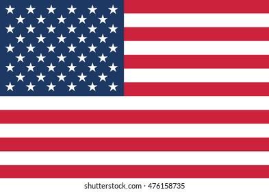 USA flag. United states of America flag.