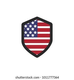 Usa Flag Vector Icon