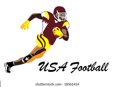 Usa football background