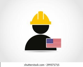 USA Identity Citizen Labor Force