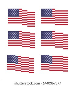 USA Independence Day 4th of July. Use for Banner, Poster, Greeting card, Flyer