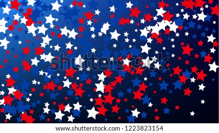 usa independence day colours of american flag invitation background banner christmas