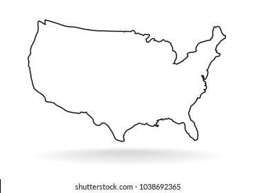 United States Outline Icon Images, Stock Photos & Vectors ... on georgia silhouette, red cross silhouette, north america silhouette, map of asia silhouette, virginia silhouette, canada silhouette, south america silhouette, world map silhouette, alabama silhouette, united states silhouette, japan map silhouette, wisconsin silhouette, california silhouette, globe silhouette, africa map silhouette, u.s. soldier silhouette, michigan silhouette, florida silhouette, europe map silhouette, usa states silhouette,