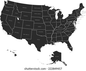 State Of Nevada Images Stock Photos Vectors Shutterstock - Us-map-with-landmarks