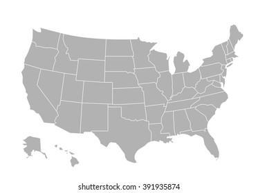 West Usa Map Images, Stock Photos & Vectors | Shutterstock