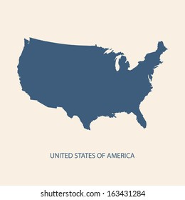 USA map vector, US MAP VECTOR, UNITED STATES OF AMERICA MAP VECTOR