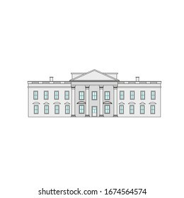 usa presidential house or also called white house