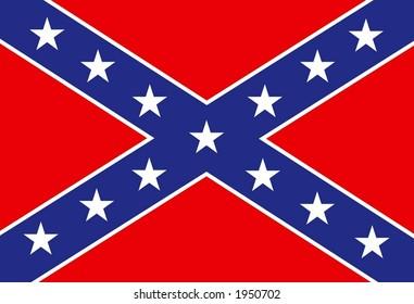 USA rebel flag