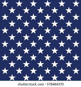 USA star vector pattern background