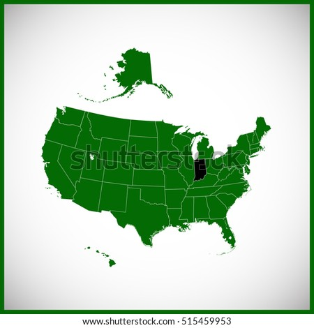 USA State Indiana Map Stock Vector (Royalty Free) 515459953 ... on lost towns in indiana, sweet home indiana, america indiana, google maps indiana, three regions of indiana, maps for indiana, capital of indiana, lakes in northern indiana, illinois state line indiana, evansville indiana, states around indiana, usa maps with cities only, state of indiana, sports in indiana, major products in indiana, usa and mexico, lowest point in indiana, big cities in indiana, indianapolis indiana, location of us in indiana,