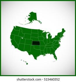USA state Of Kansas